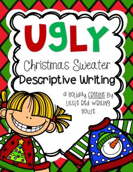 Holiday Descriptive Writing {FREEBIE}