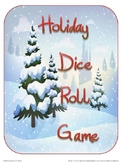 Holiday Dice Roll Game