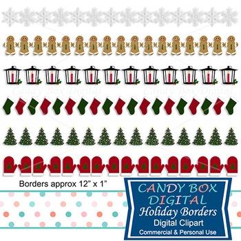 Holiday Digital Borders