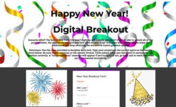 Holiday Digital Breakout Escape Room Bundle