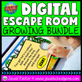 Holiday/Seasonal Digital Escape Room BOOM Cards™ with Eart