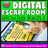 Digital Escape Room BOOM Cards™ BUNDLE with Back to School