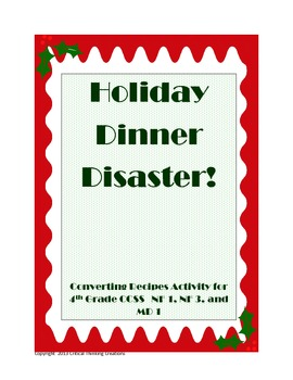 Holiday Dinner Disaster