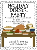 Holiday Dinner Party Super Pack: Math Operations, Problem Solving and More!