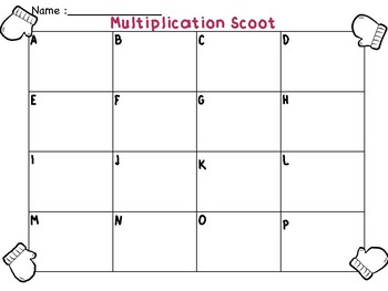 Holiday Division & Multiplication Story Problems