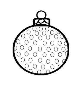 Holiday Do-a-dot Activity Freebie
