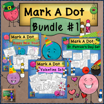 Holiday Dot Dauber Bundle #1