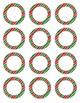 Holiday Dot Labels