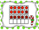 Holiday Double Ten Frame Subtraction within 20 Write the Room