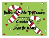 Holiday Double Ten Frames