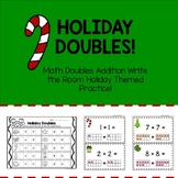 Holiday Doubles Write the Room!