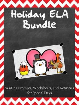Holiday ELA Packet