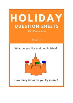 Holiday - ESL Question Sheets (Ages 6-12)