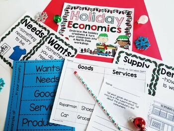 Holiday Economics {A Social Studies Unit}