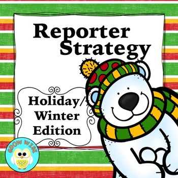 Christmas and Winter Holiday Edition Reporter Strategy