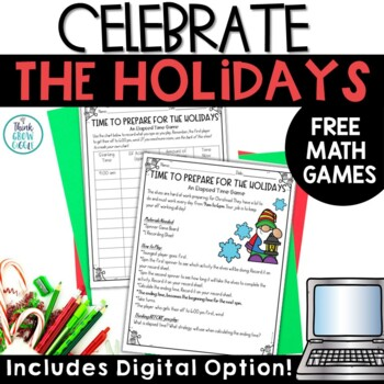 Christmas Math Games FREE
