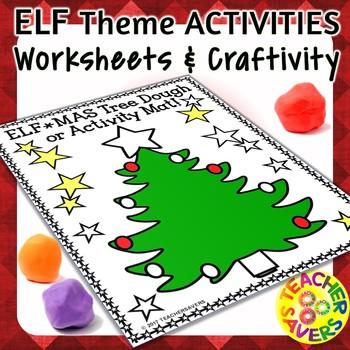 Holiday Elf Activities Bundle