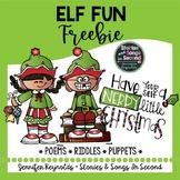 Holiday Elf Literacy Pack {FREEBIE}