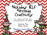 Holiday Elf- Parts of Speech Craftivity