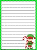 Elf Extras: Holiday Themed Writing Freebie!