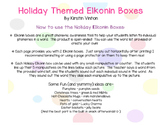 Holiday Elkonin Boxes