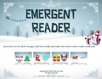Holiday Emergent Reader