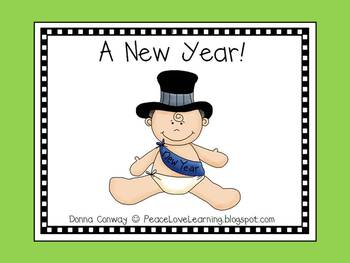 Holiday Emergent Reader - A New Year