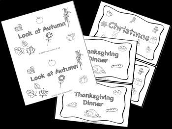 Holiday Emergent Reader Bundle (6 readers included)