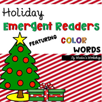 Holiday Emergent Readers - Color Words