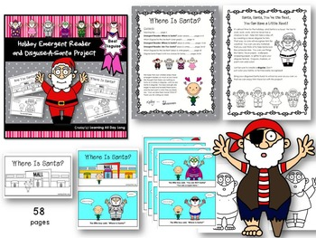 Holiday Emergent Readers and Disguise-a-Character Bundle
