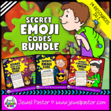 Holiday Emoji Activities BUNDLE (Back to School Emoji Acti