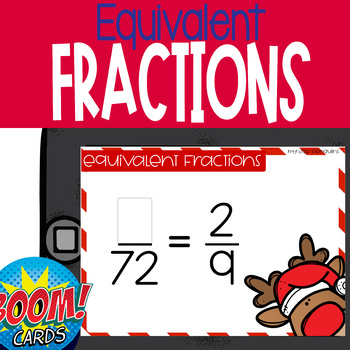 Holiday Equivalent Fractions 4.nf
