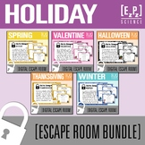 Holiday Escape Room Bundle- Science Digital Breakout