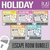 Holiday Escape Room Bundle- Science Digital Breakout