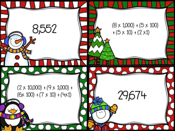 Christmas Expanded Notation Card Game