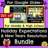 Holiday Expectations Manners New Years Resolution Bundle f