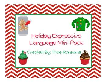 Holiday Expressive Language Mini Pack