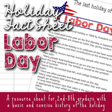 Labor Day Holiday Facts for Kids