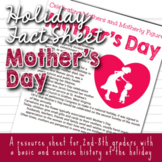 Holiday Fact Sheet - Mother's Day