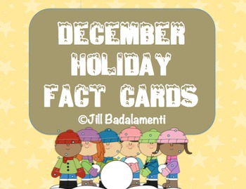 Holiday Facts Cards