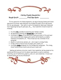 Holiday Family Newsletter