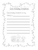 Holiday Family Tradition Writing Prompt