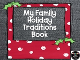 Holiday Family Traditions Book