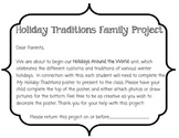 Holiday Family Traditions Project