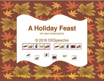 Holiday Feast Game - Freebie