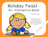 Holiday Feast - Interactive Book