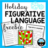 Holiday Figurative Language Freebie: Fun, No-Prep Coloring