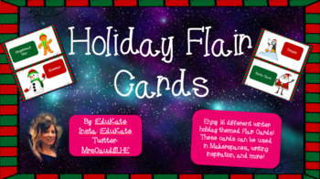 Holiday Flair Cards