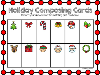 Holiday Flash Cards