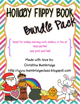Holiday Flippy Book Bundle